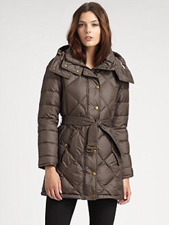 Burberry Brit - Eddingly Hooded Puffer Jacket