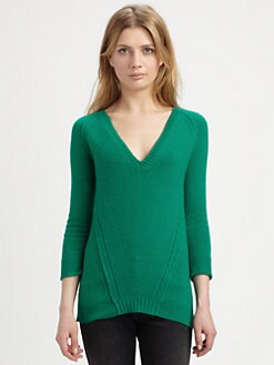 Burberry Brit - Cashmere V-Neck Sweater