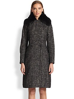Etro - Herringbone Long Coat