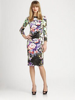 Etro - Silk Floral Dress