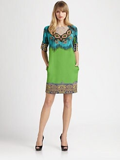 Etro - Silk Tunic Dress