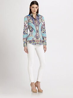 Etro - Finial Paisley Print Shirt