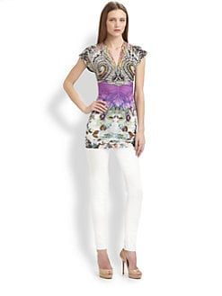 Etro - Jersey Tunic Top