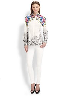 Etro - Floral Button-Front Shirt