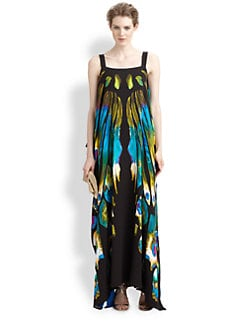 Etro - Butterfly Caftan Gown