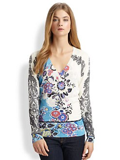 Etro - Silk Floral Sweater
