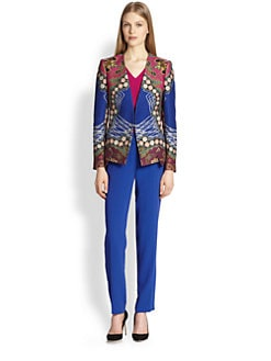 Etro - Matelass&eacute; Coin Print Jacket