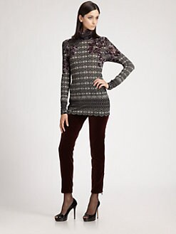 Etro - Printed Turtleneck