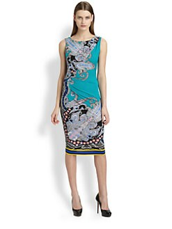 Etro - Printed Jersey Dress