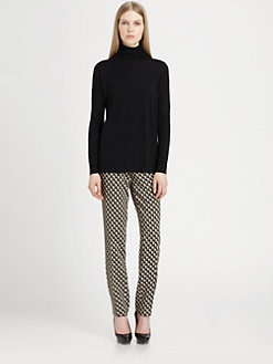 Etro - Wool & Cashmere Colorblock Turtleneck Sweater