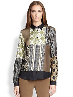 Etro - Silk Printed Blouse