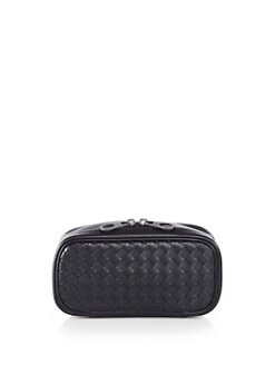 Bottega Veneta - Valigia Woven Leather Toiletry Case