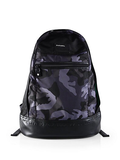 Camo On The Road Backpack