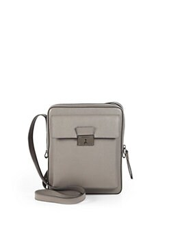 Burberry - Leather Crossbody Camera Bag