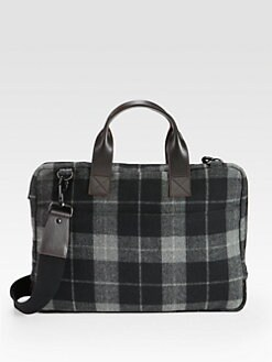 Jack Spade - Double Face Slim Wool Brief