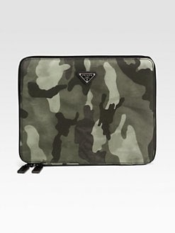Prada - Nylon Camouflage Case for iPad