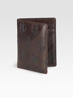 Jack Spade - Embossed Anchor Card Holder