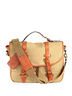 Polo Ralph Lauren - Waxed Twill Messenger