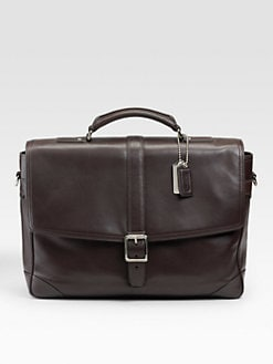 Coach - Transatlantic Leather Brief