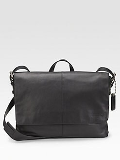 Coach - Thompson Slim Leather Messenger