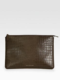Marc by Marc Jacobs - Leather Laptop Case