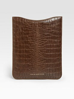 Marc by Marc Jacobs - Embossed Leather Sleeve for iPad