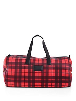 Marc by Marc Jacobs - Plaid Duffel Bag