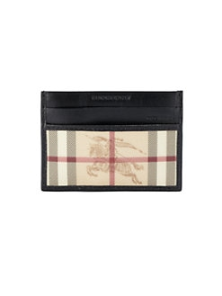 Burberry - Check ID Case