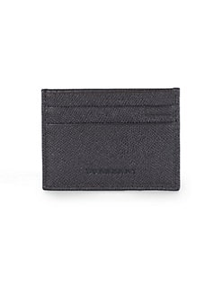 Burberry - Leather Credit Card Case