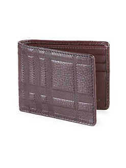 Burberry - Leather Hipfold Wallet