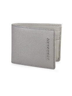 Burberry - London Leather Hipfold Wallet