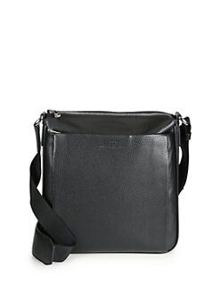 Bally - Grained Leather Shoulder Bag