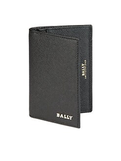 Bally - Embossed Leather ID Wallet