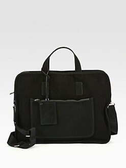 Marc by Marc Jacobs - Sueded Goat Leather Briefcase