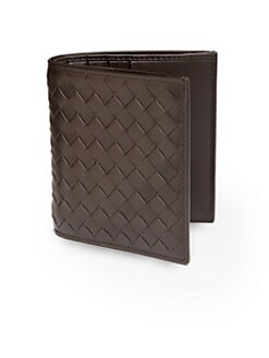 Bottega Veneta - Leather Bifold Wallet