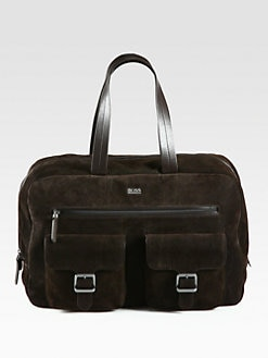 BOSS Black - Clime Corduroy Weekender