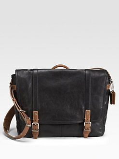 Coach - Harrison Leather Messenger