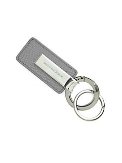 Burberry - Leather Rhodes Key Fob