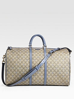 Gucci - Large GG PU Stars Fabric Carry-On Duffel