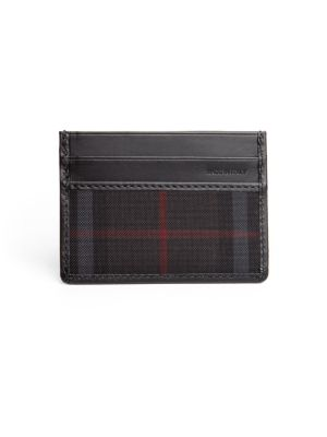 Horseferry Check Credit Card Case