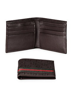 Gucci - Guccissima Leather Bifold Wallet