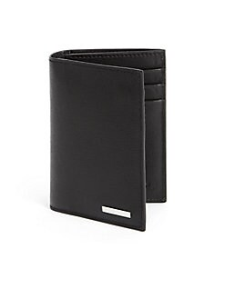 Fendi - Leather Travel Wallet