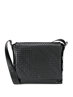 Bottega Veneta - Intrecciato Large Messenger