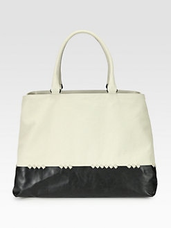 Bottega Veneta - East/West Leather Tote