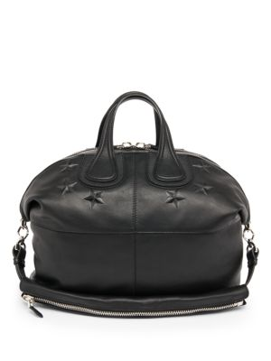 Embossed Star Nightingale Bag