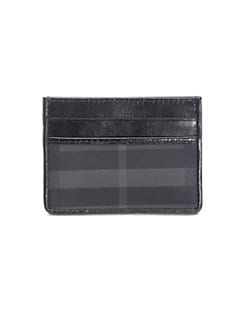 Burberry - Check Credit Card Case