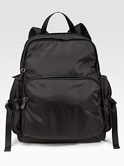 Prada - Woven Nylon Backpack