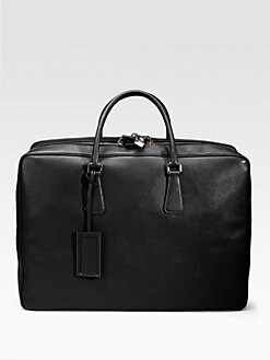 Prada - Saffiano Travel Briefcase