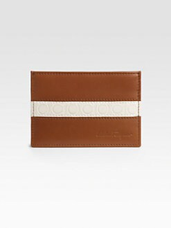 Salvatore Ferragamo - Two-Tone Credit Card Case