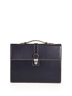 Salvatore Ferragamo - Three-Gusset Briefcase